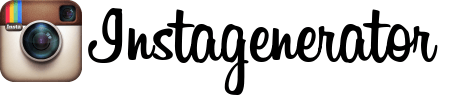 instagram風ロゴ