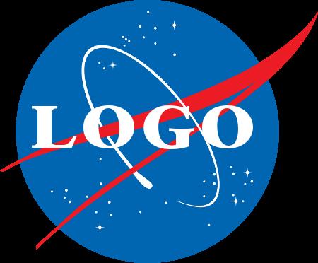 NASA風ロゴ